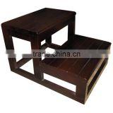 Spa wooden step for used beauty salon furniture DS-YS043