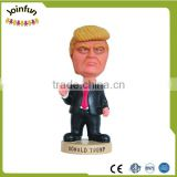 make custom design plastic toy shake head toy,OEM make moving head shaking plastic toys figures