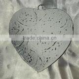 Christmas Decoration Hanging Heart,X mas Decoration Ornaments,Decorative Metal Heart,Hanging Metal Heart