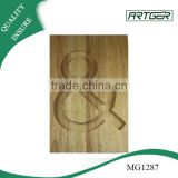Letter Pattern Wooden Serving Cutting Board, Acacia Wood Chopping Board