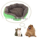 Newly Design Soft Fleece Warm Dog Bed House Plush Nest Mat Pad For Pets Puppy Cats hot search