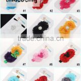 Fashion! hair accessories wholesale china flower making hair accessory lace elastic hairband