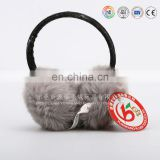 Winter Ear Muffs / Plush Red Ear Muff For Winter Protection / Plush Ear Muff toy