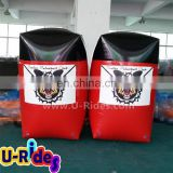 Durable Barrier Inflatable Paintball Bunker For Shooting Game