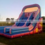 New Design Commercial Inflatable Bouncer Slide 2015/Outside Inflatable Castle Slide /Colorful Jumping castle