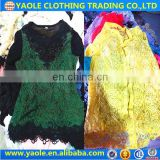 china second hand items Super cream quality textile recycling used clothing