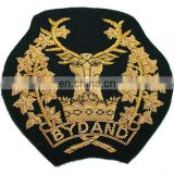 Embroidered Crest, Badge, Insignia, Emblem, Coat of Arms, Pakistan Hand Embroidery