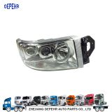 Zhejiang Depehr Heavy Duty European Tractor Body Parts Head Light Renault Truck Head Lamp 5010578475 5010578451