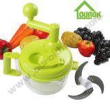 MULTIFUNCTIONAL VEGETABLE CHOPPER WITH EGG SPOON/A138