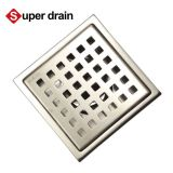Stainless steel long tile insert long linear shower drain floor drain for bathroom