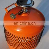 JG West Africa 5kg Small Container LPG Gas Cylinder,Portable 5kg Liquid Petroleum Gas Cylinder,5kg BBQ Gas Bottle Propane Tank
