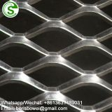 Aluminum stretched mesh ceiling / metal hanging sheet