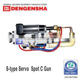 Made in Japan Specialized High welding quality C type servo gun for car front bumper welding