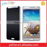 Black privacy tempered glass screen protector for samsung galaxy s4 mini cover