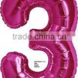 New design number balloons with helium inflated for party decoration                                                                                                         Supplier's Choice
