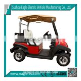 low cost electric car, 2 seat, pure electric, 36V 3KW, with golf bag holder, plastic top, plastic body, Trojan battery EG202AKSZ
