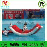 Inflatable water sport games inflatable totter/seasaw for pool/lake/beach/river/sea