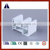 Popular white pvc profile frame for sliding window and door design