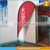 Outdoor flag pole stands,digital printing flag