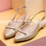 Plastic fashion flat summer sandals 2014 for women latest ladies flat sandals made in China XT-DA0750                                                                         Quality Choice
