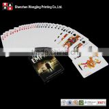 2015 famous brand playing cards , playing cards printing high quality playing cars for fancy