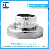 FR-03 stainless steel fence post base plate/handrail post base plate