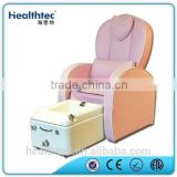 lovely pink princess pedicure spa chair for kids