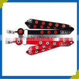 China Manufacture Various Custom Polyester Badge Strap lanyard