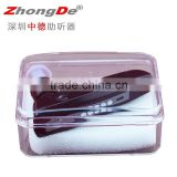 Alibaba china rechargeable hearing aid with bluetooth, bone conduction hearing aid                                                                         Quality Choice