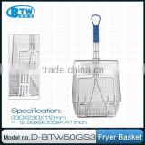 Commerical Kitchen Iron Wire Freyer Basket,Hot Sale and High Quality
