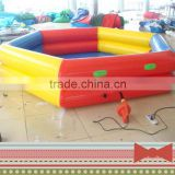 Factory price large newest design round inflatable water swimming pool for kids and adult