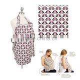 hot wholesale various design print boutique cotton breastfeeding nursing cover