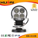 3 Inch 12W LED Work Light for jeep truck, agricultural, machine, heavy duty, boat, marine