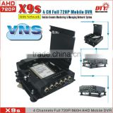 School Bus monitor system , 3G WIFI GPS DVR , 4CH Mobile Bus/Vehicle Video DVR Camera Surveillance Systems In-vehicle DVR, X9s