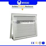 HVAC System Return Filter Exhaust Air Louver Grill