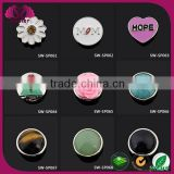 2015 fashion jewelry button wholesale zinc alloy snap button for jewelry garment