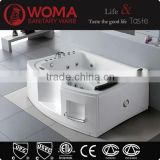 Q360 Super Luxury Acrylic Freestanding 2 person indoor massage hottub outdoor spa pool sexy masage spa