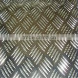 5083 five bars pattern aluminium plate