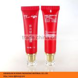 one color silkscreen printing cosmetic soft tube for facial mask 15g