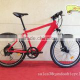 Aluminum electric bike with 350W brushless hub motor QD-52