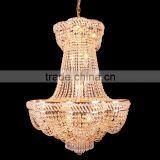 High Ceiling Chandelier Crystal Banquet Hall Lighting for Wedding Decoration