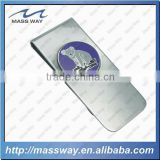 high quality custom animal shape 3D metal money clip holder