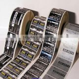 Product self adhesive label custom quality good price low environmental protection can move