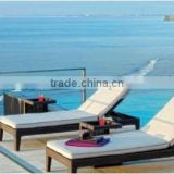 RATTAN SUN LOUNGE ,LONGE CHAISE ,WICKER FURNITURE/OUTDOOR /GARDEN SET WITH DISCOUNT PRICE