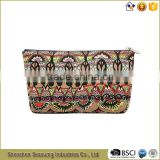 Good Qualily Canvas Beauty Cosmetic Bag Makeup Purse
