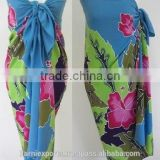 summer beach holiday sexy bali sarong pareo / pareo sarong for promotion