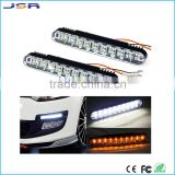 New Fashion 2x 30 LED Car Daytime Running Light DRL Daylight Lamp with Turn Lights