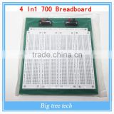 4 In1 700 Position Point SYB-500 Tiepoint PCB Solderless Bread Board Breadboard BT057