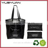 2016 Unique Stylish Long Handles Easy Clean Liner Eco Friendly Insulated Cooler Tote Bag