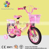 2016 latest hot selling princess girls bicycle/cycle colorful kid bikes on sale/ factory price children bicycles hotsale